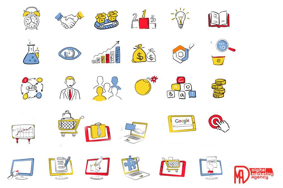 Розробка і створення векторної графіки (розробка унікальних іконок)